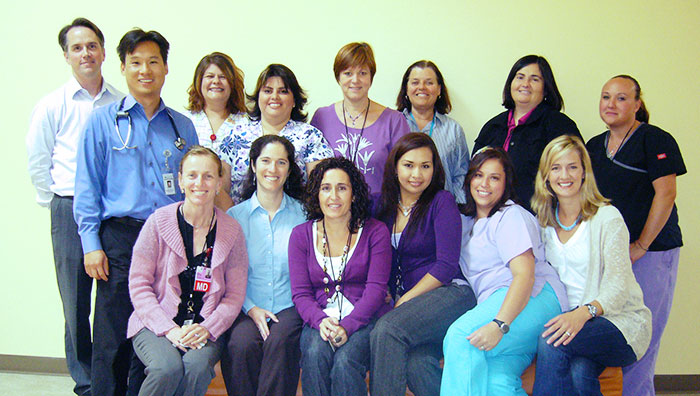 Women's Health and Obstetrics Department staff