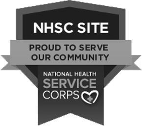 National Health Service Corps. We are an NHSC Site, proud to serve our community.