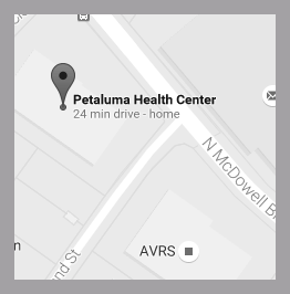 Petaluma Health Center location in Petaluma