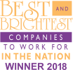 Best & Brightest Companies to Word For in the Nation Winner 2018